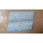 Fox Racing logo sticker for Bikes and Cars.
