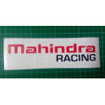 Mahindra Racing logo stickers for Mahindra cars and bikes. (pair of 2 stickers)