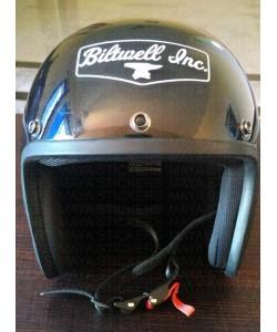 Biltwell logo sticker for helmets