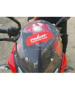 Pulsar adventure sport stickering on AS200 windshield