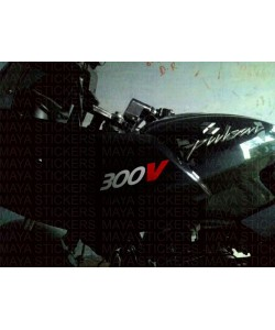 Motul 300V sticker for Bajaj Pulsar 200