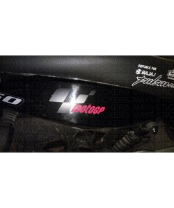 Motogp logo stickering for Bajaj Pulsars