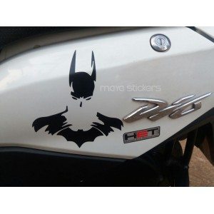 Batman sticker for Honda Dio