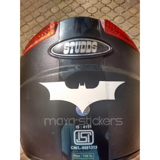 Batman Vinyl Sticker And Decals For Cars And Bikes - Custom vinyl stickers for helmets