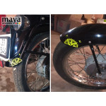 Compass decal stickers for RE, bikes, cars and laptops