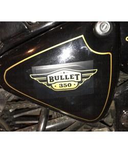 Bullet 350 toolbox emblem sticker
