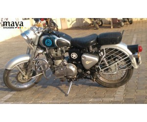Royal enfield  custom tank stickers