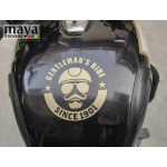 Gentleman's ride since 1901 Sticker for Royal Enfield