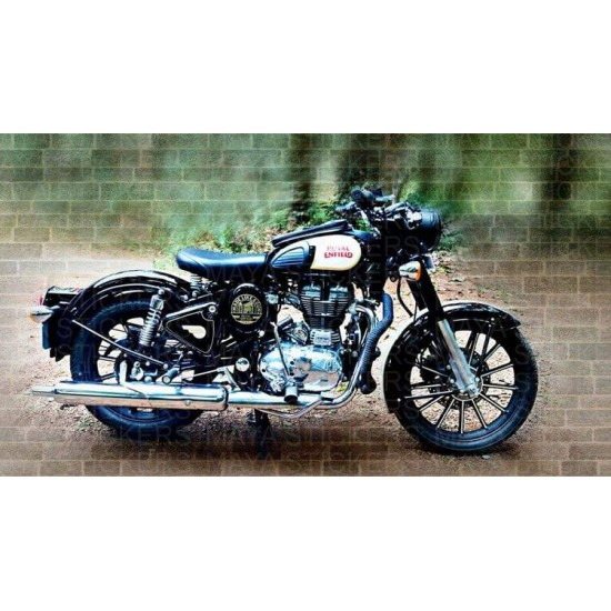 Made Like A Gun Sticker Decal For Royal Enfield Bikes
