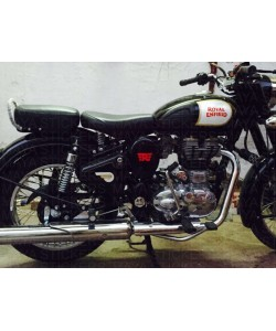 Royal enfield small logo side covers