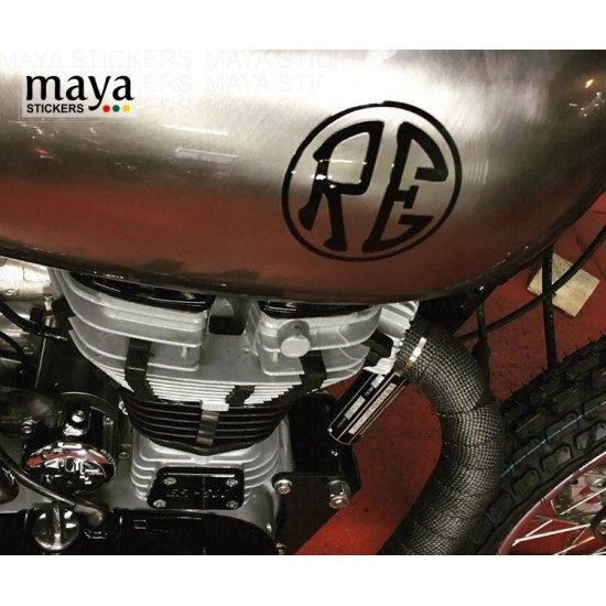 Re Royal Enfield Logo In Custom Colors And Sizes