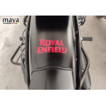 Royal Enfield New Text logo stickers  (Pair of 2 stickers )