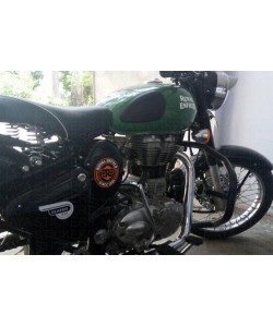 Royal enfield since 1901 stickering on classic 350 redditch green