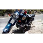 star sticker / vinyl decal for Royal Enfield Bullet,  bikes, cars and helmet (set of 4 )