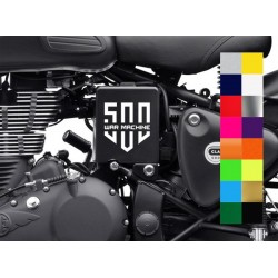 500 War Machine sticker for royal enfield classic and bullet 500