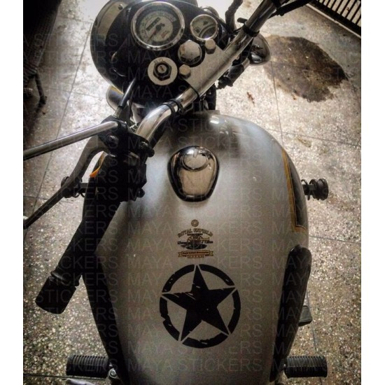 Rugged Star Sticker Decal For Jeep Royal Enfield Other