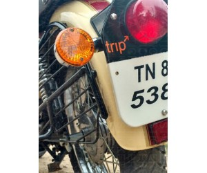 Trip stickers for Royal Enfield Classic 500 Tan