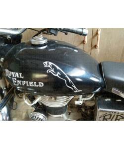 Jaguar logo sticker on Electra Tank