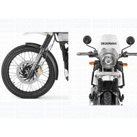 Royal Enfield Himalayan stencil style logo sticker (Pair of 2 )
