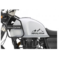 Mountain design royal enfield himalayan tank sticker