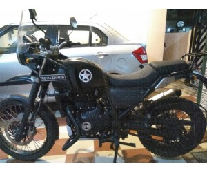 Royal Enfield Himalayan Sticker works
