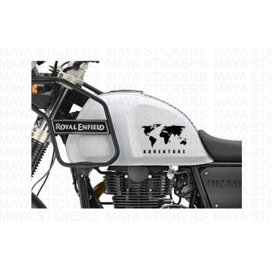 World map adventure sticker for himalayan thar and other offroaders world map adventure sticker for re himalayan thar suvs and cars gumiabroncs