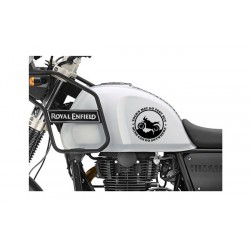 Yours may go fast but mine can go anywhere offroad sticker for RE Himalayan
