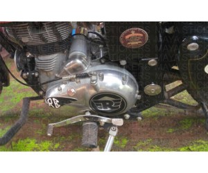 Royal enfield logo sticker for Classic 350 engine