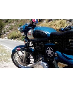 Star sticker for royal enfield classic 350 battery box