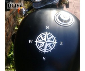 COMPASS sticker for RE thunderbird tank top