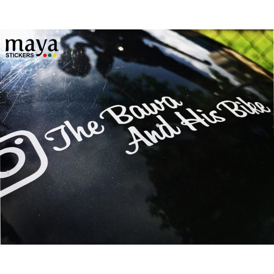 Custom Facebook Username Your ID Name Vinyl Decal Sticker Comes As A Pair
