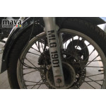 MLG 1901 number stencil style sticker for all Royal Enfield Classic and Bullet stumps