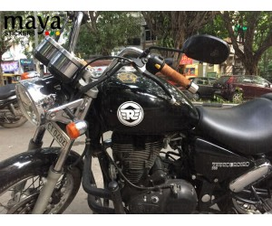Royal enfield logo sticker for thunderbird tank sides