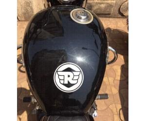 Royal Enfield logo sticker for Thunderbird tank top