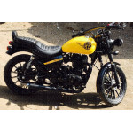 RE with wings  sticker for Royal Enfield bikes.  (pair of 2)