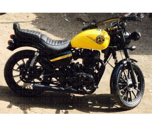 Royal Enfield Thunderbird Stickering