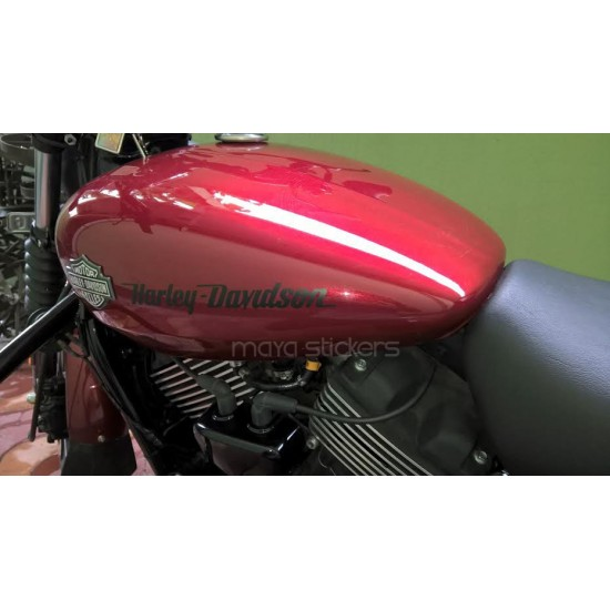 Harley Davidson Simplistic Logo Stickers Vinyl Decal For