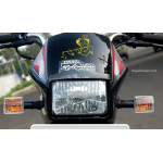 Lord Krishna with flute sticker for cars, bikes, laptops
