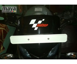 Motogp logo sticker on Hero Xtreme