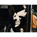 Honda Hornet insect logo decal sticker for Bikes and helmets