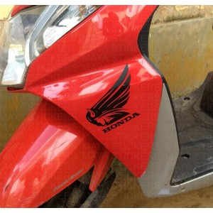 Custom honda logo for Honda dio
