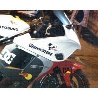 Hyosung GT650r, GT250r sticker works