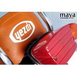 Yezdi logo sticker in custom colors and sizes ( 2 stickers)