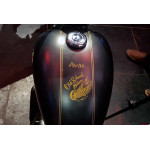 Old school biker stickers for all classic motorcycles and helmets