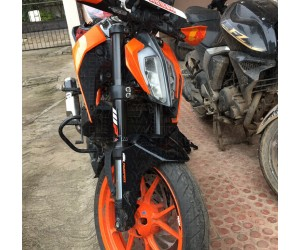 WP and KTM power parts logo sticker for duke 250