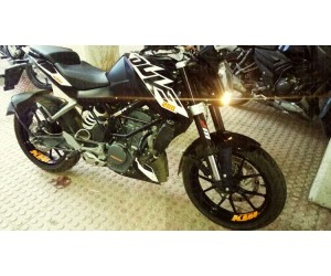 WP suspension sticker for KTM duke 200