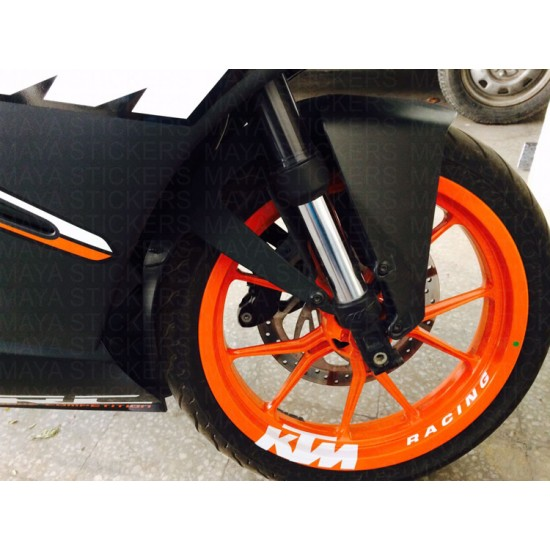 Ktm Racing Logo Stickers For All Bikes