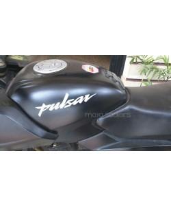Bajaj pulsar fuel tank logo stickers