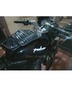 Fuel tank replacement pulsar logo stickers