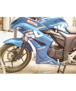 Ecstar logo sticker for suzuki gixxer sf